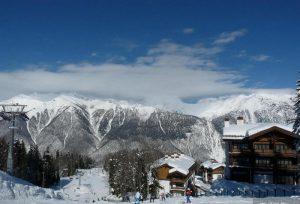 Отдых с Сочи зимой. Горы Лыжи