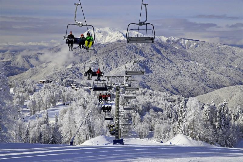 Сочи зимой лыжный отдых