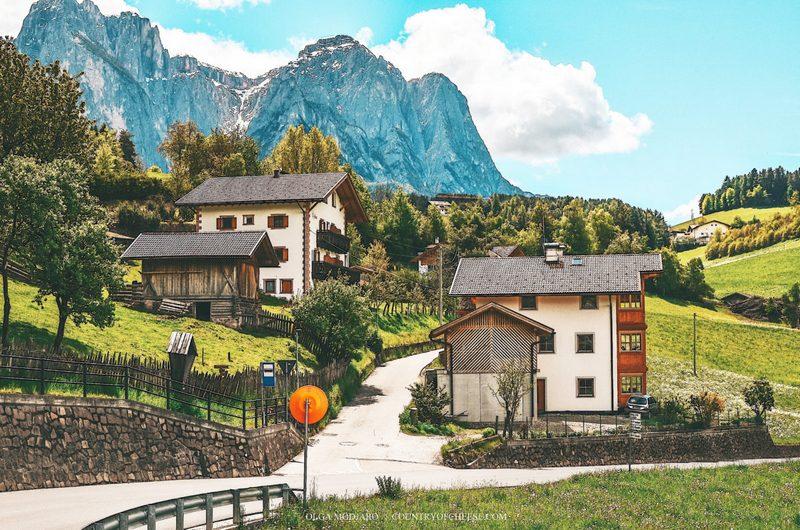 Южный Тироль Доломитовые Альпы Италия