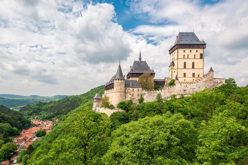 Замок Карлштайн Чехия
