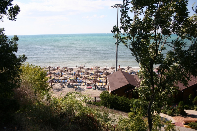 Платный пляж Анапа
