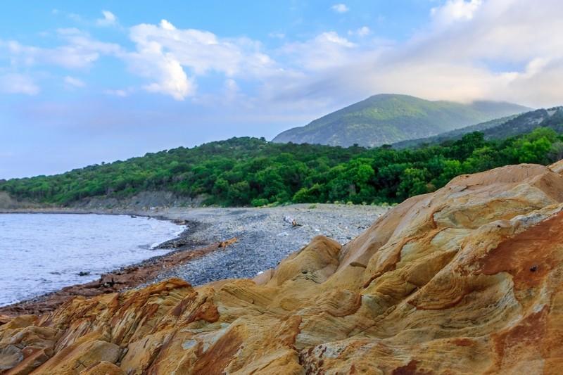 Каменистые пляжи в Краснодарском Крае