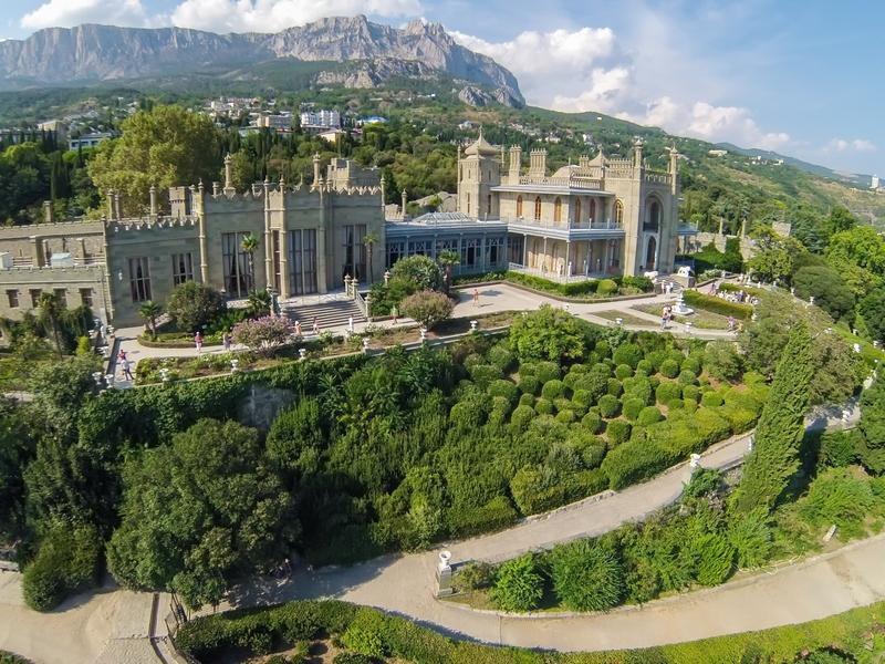 Воронцовский дворец в Крыму