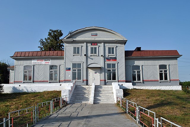 Железнодорожный вокзал Камбарка