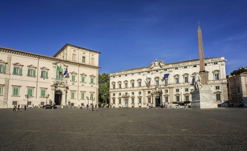 Квиринальский дворец Рим, резиденция президента Итальянской Республики